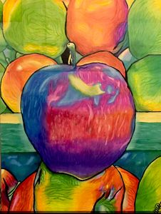 Clapple (colorful apple)