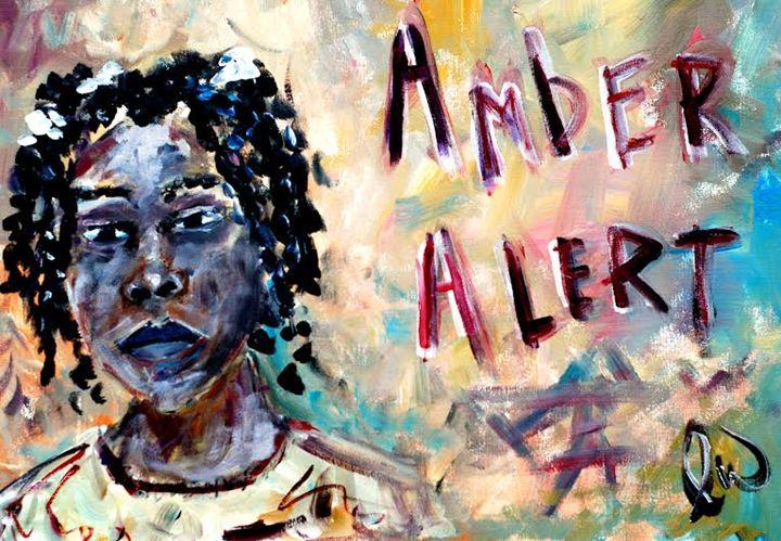 """Amber Alert - Relisha Rudd"" - LW Arts and Design"