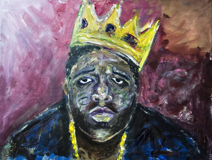 """King B.I.G"" - Luther Wright Studios"