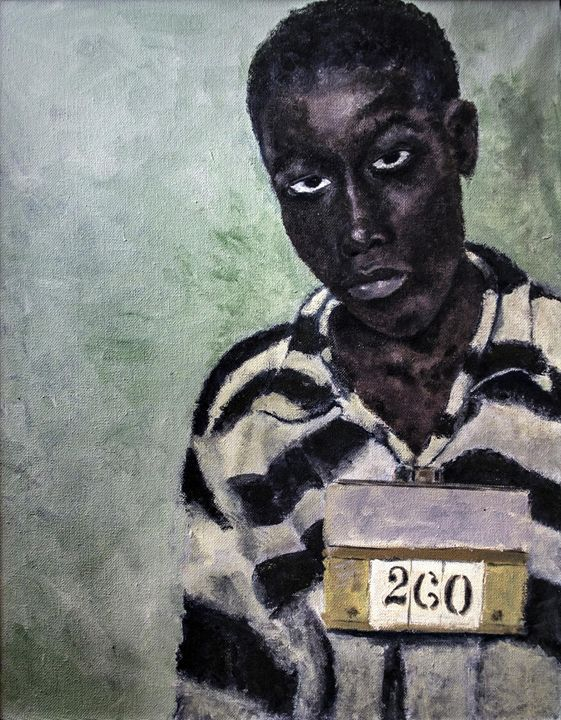 """""""Execute 14 - George Stinney"""" - Luther Wright Studios"""