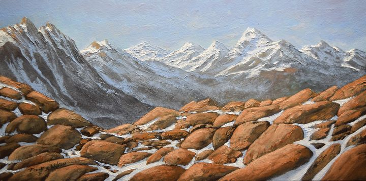 High Sierra Nevada Mountains - Frank Wilson