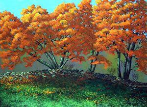 The Blaze Of Autumn