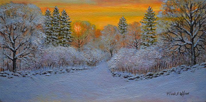 Winter Glow - Frank Wilson