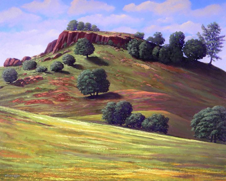 Flowering Meadow - Frank Wilson