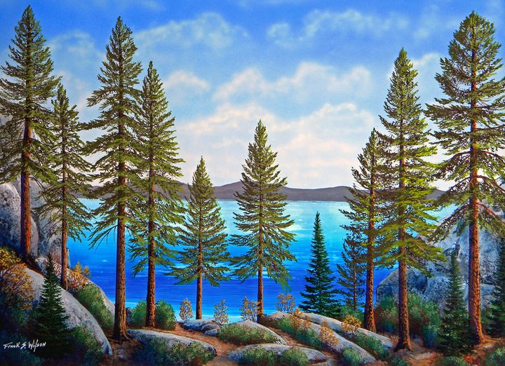 Pine Woods - Frank Wilson