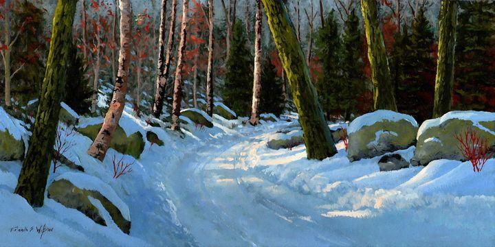 Winter Road - Frank Wilson