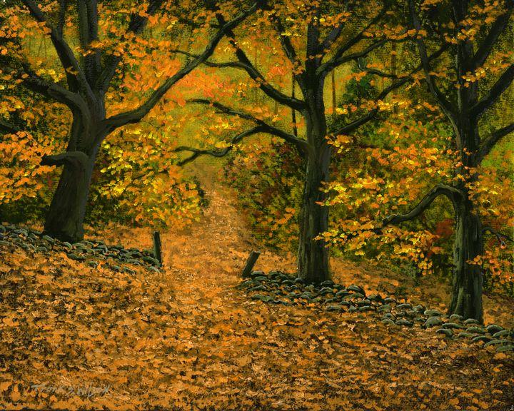 Through The Fallen Leaves - Frank Wilson