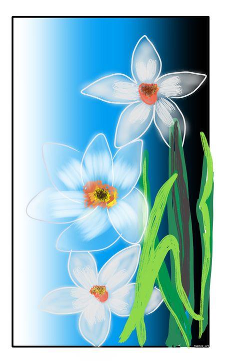 Daffodils,william wordsworth - Manoz Art