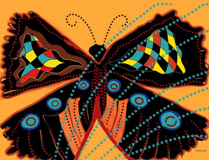Trendy Butterfly - Manoz Art