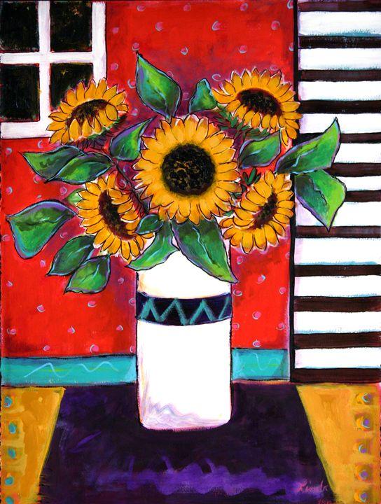 Sunflowers - Linda Holt