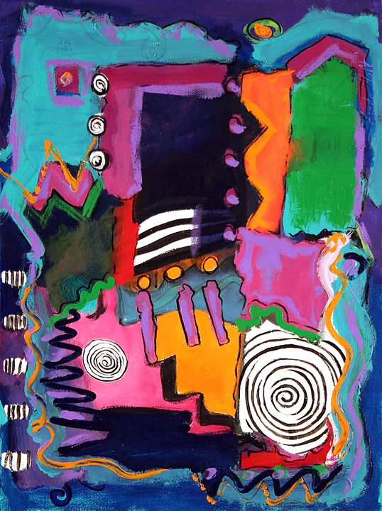 Spirals - Linda Holt