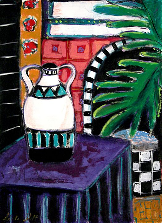 A Sunny Corner - Linda Holt