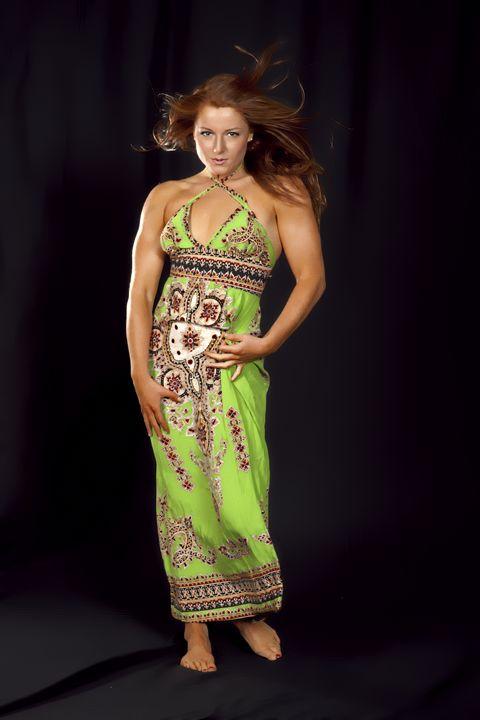 Ileana modeling dress.........model - DLF Photo