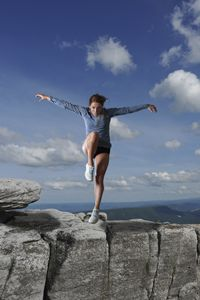 Ileana modeling flying high