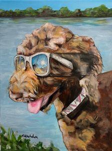 """Sunny Girl"" - The Benevolent Bear Art Studio"