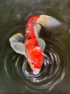 """Koi Fish"" - The Benevolent Bear Art Studio"