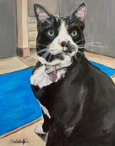 """Carl"" - The Benevolent Bear Art Studio"