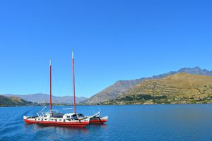 Lake Wakatipu - Queenstown NZ