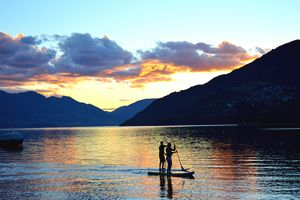 Sunset Paddle Boarding - NZ