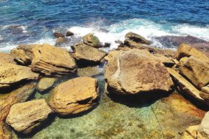 Rocks by the Sea - Sydney, Australia
