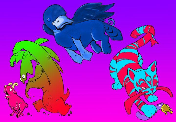 Monsters - Artwork