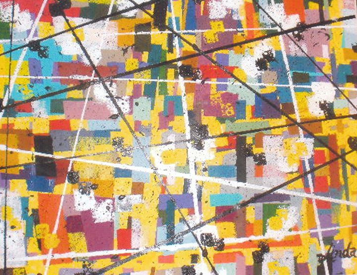 "*""Gridlock"" - Linda D. Shelton's Paint Box"