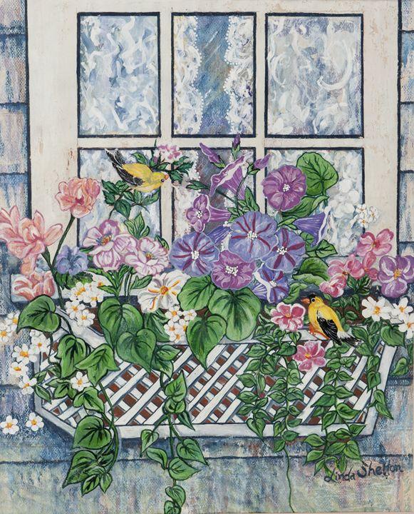 """""""WindowBox"""" - Linda D. Shelton's Paint Box"""