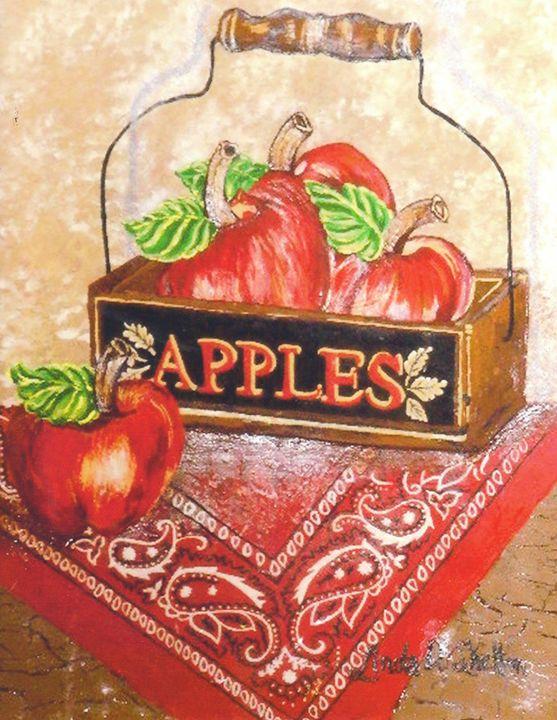 """""""Box of Apples"""" - Linda D. Shelton's Paint Box"""