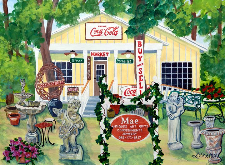 """Mae Consignment - #2"" - Linda D. Shelton's Paint Box"