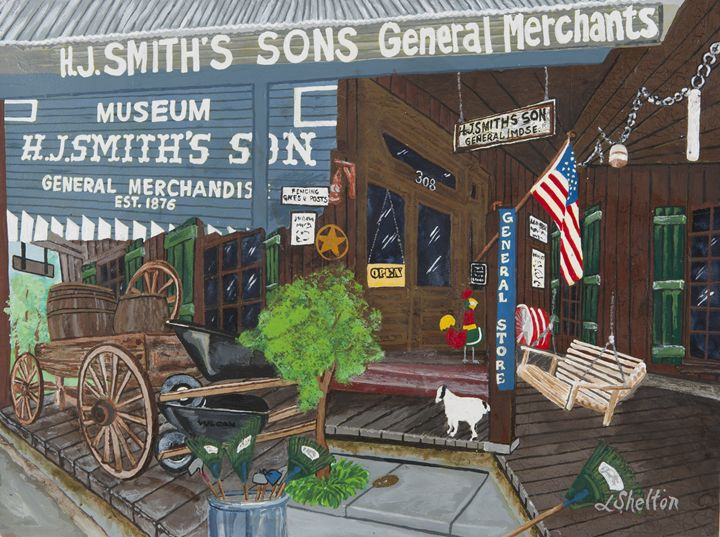 "*""Smith's Hardware Store"" - Linda D. Shelton's Paint Box"