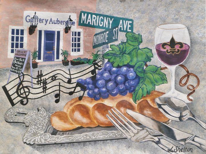 """""""Gallery Aubergine"""" - Mandeville, LA - Linda D. Shelton's Paint Box"""