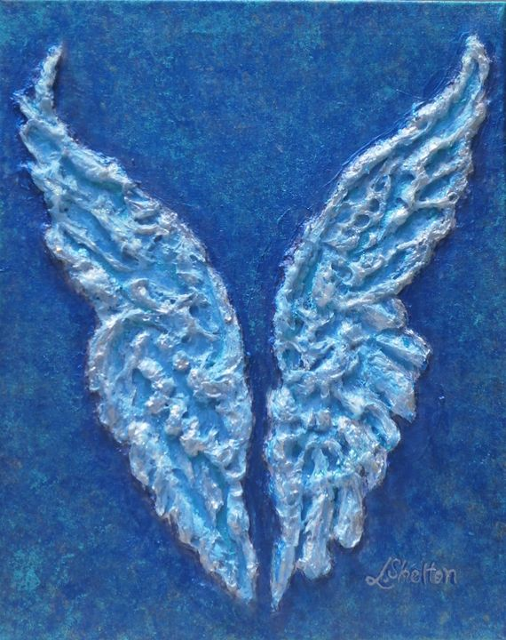 "*""Angel Wings I"" - Linda D. Shelton's Paint Box"