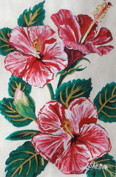 """Hibiscus"" - Linda D. Shelton's Paint Box"
