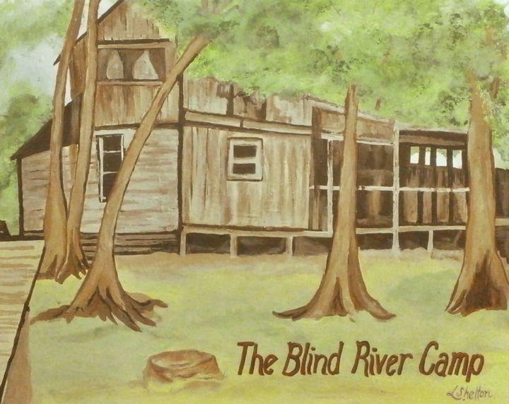 The Blind River Camp - Linda D. Shelton's Paint Box