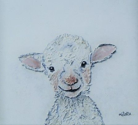 Lamb - Linda D. Shelton's Paint Box