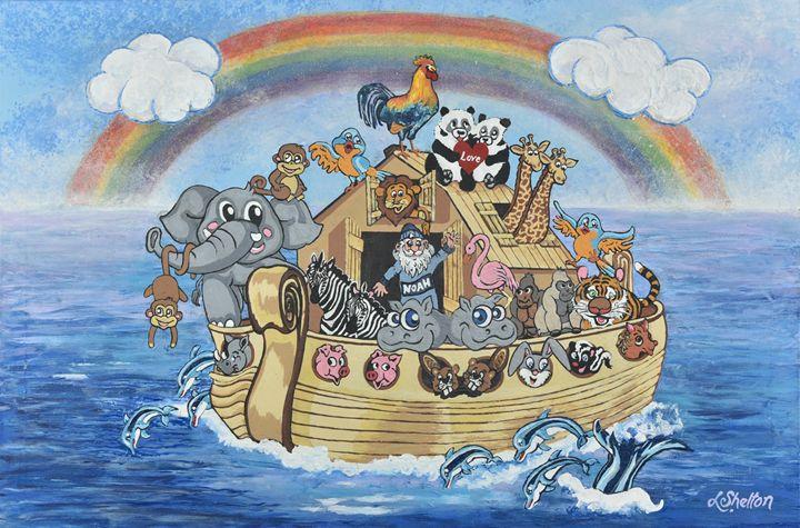 Noah's Ark - Linda D. Shelton's Paint Box
