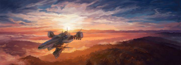 The Highwind Soars - Retro Game Art