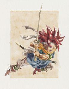 Crono - Watercolor Series