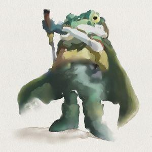Frog - Watercolor Series