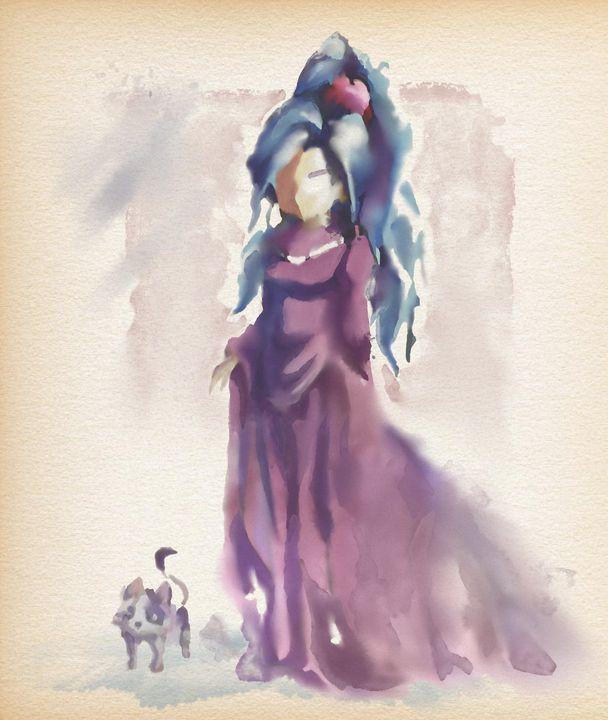 Schala - Watercolor Series - Retro Game Art