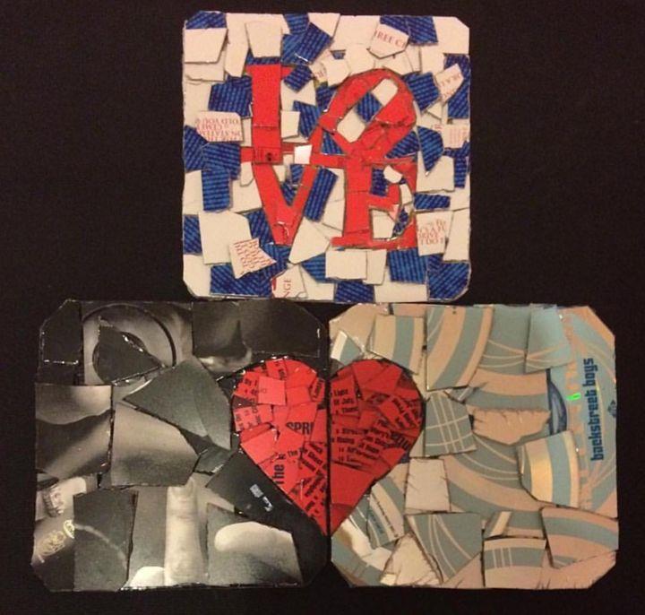 CDecoupage Coasters - mikefordart.com