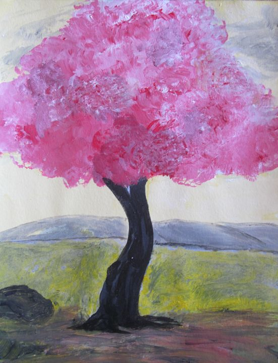 pink tree...00132ipk - pranava