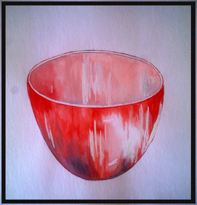 red bowl-02 - pranava
