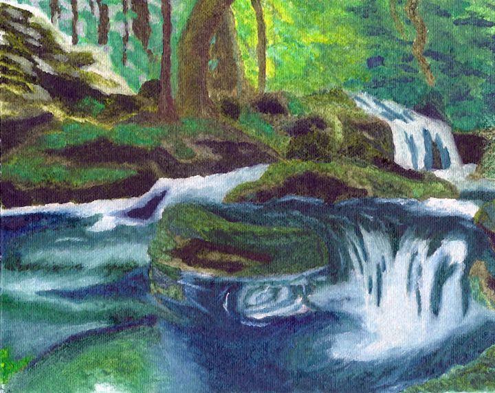 Flowing River - Anikio's Designs