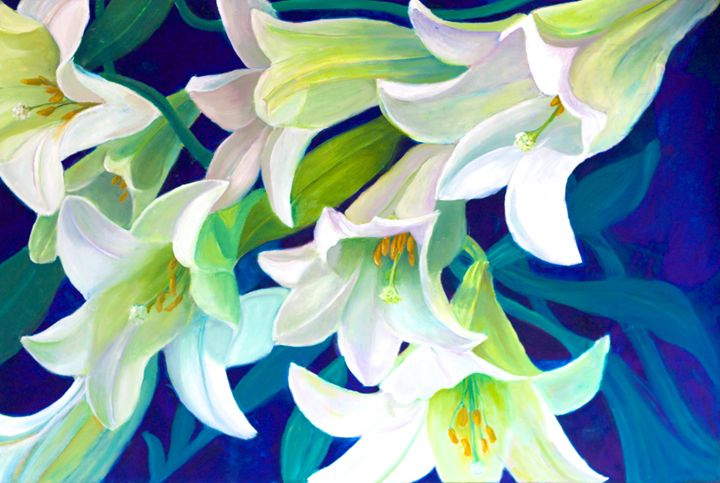 Lilies - Mary Roberts Pictures