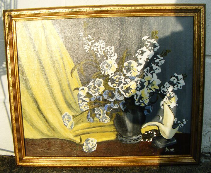 STILL LIFE WITH FLOWERS - Aine Art