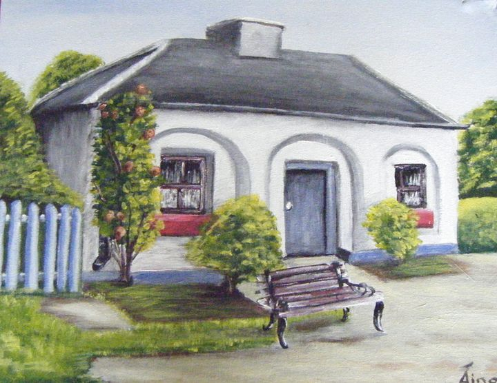 Cottage on the Lock, Co.Longford - Aine Art