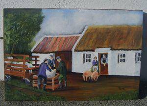 Original Painting FARMWORK