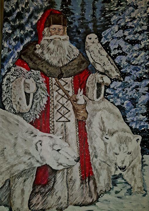 Santa Claus - Olga Polasek