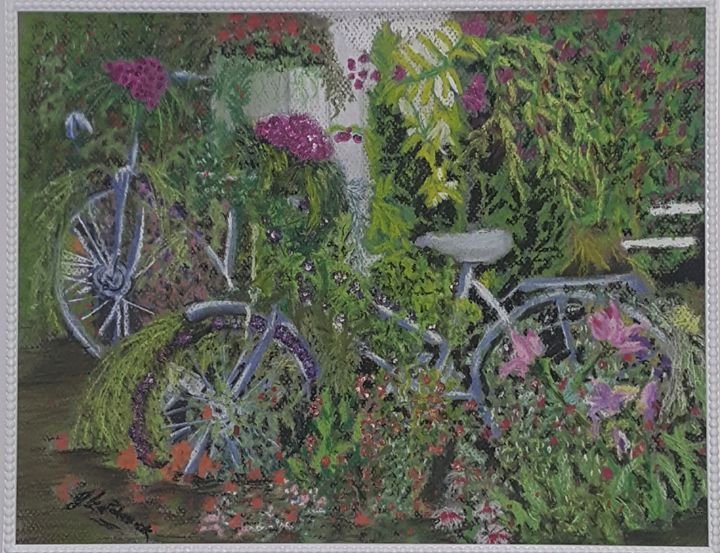 Romantic gardens - Olga Polasek